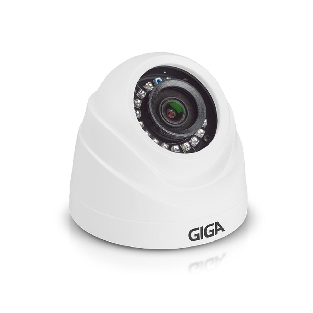 Câmera Dome GIGA Hd Serie Orion 720p Ir 20m 1/4 2.6mm GS0019