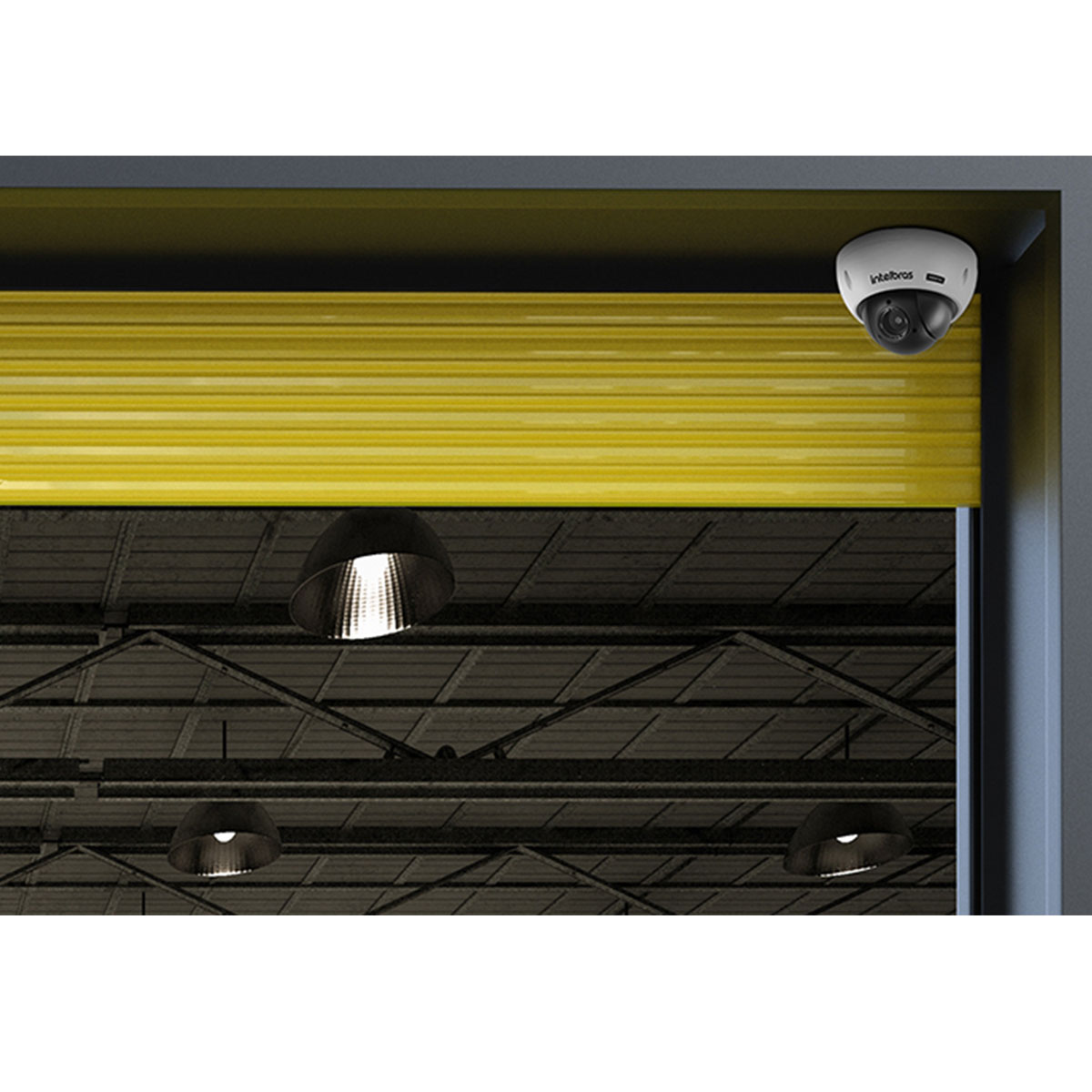 Câmera Speed Dome Intelbras HDCVI  VHD 5205 SD Full HD 1080p IK10 IP66 2.7 - 11 mm