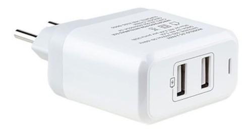 CARREGADOR USB INTELBRAS FONTE EC2 USB FAST BRANCO