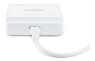 CARREGADOR USB INTELBRAS FONTE EC4 USB QUICK DESKTOP