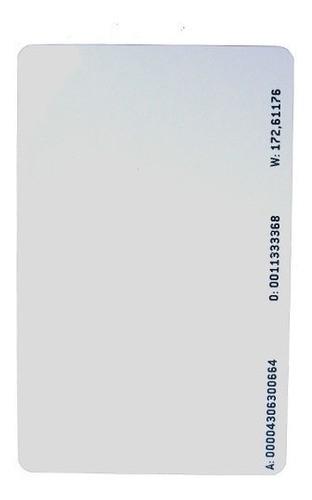 CARTÃO INTELBRAS DE ACIONAMENTO POR PROXIMIDADE RFID TH161L (RFID/MIFAREIK)