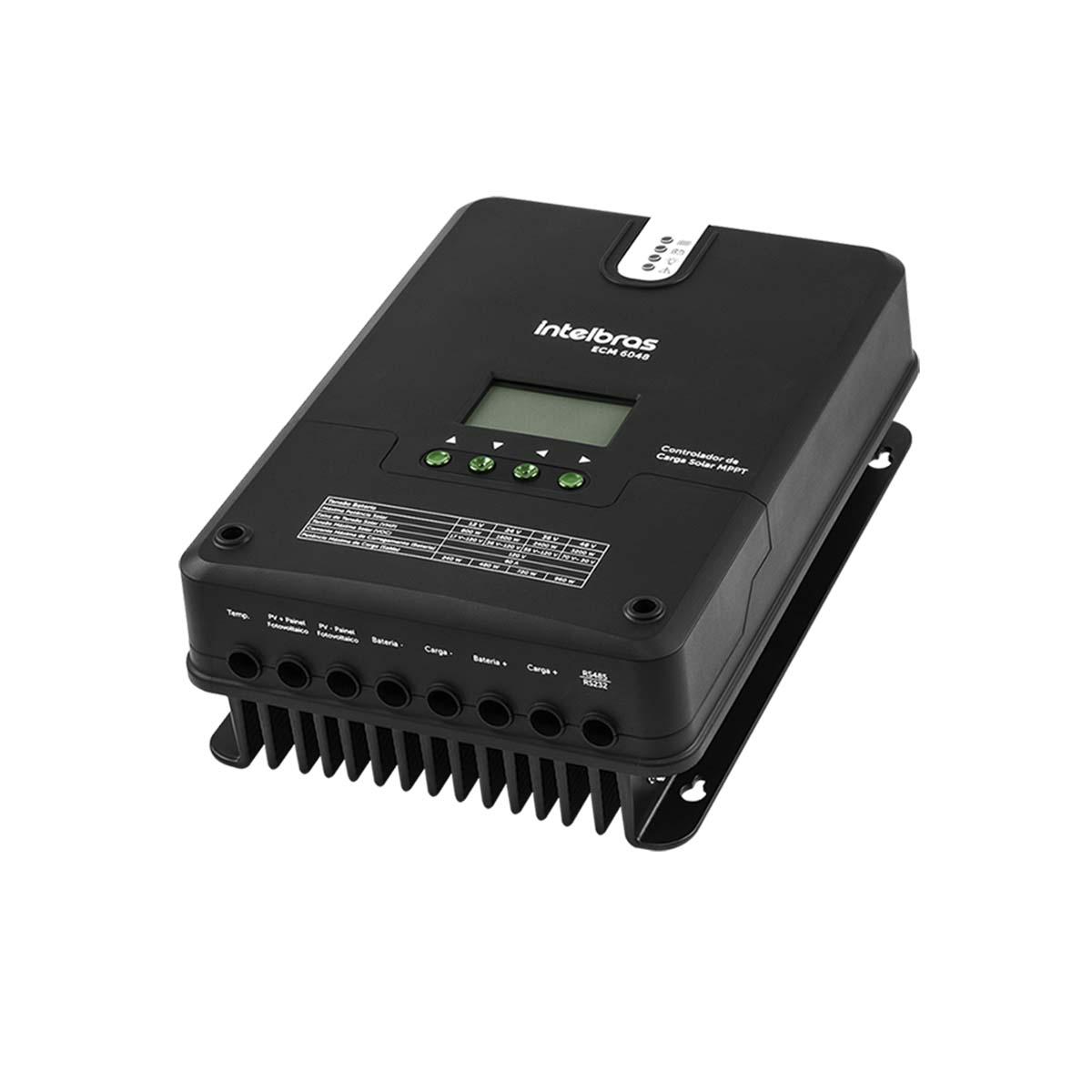 Controlador de Carga Intelbras MPPT ECM 6048