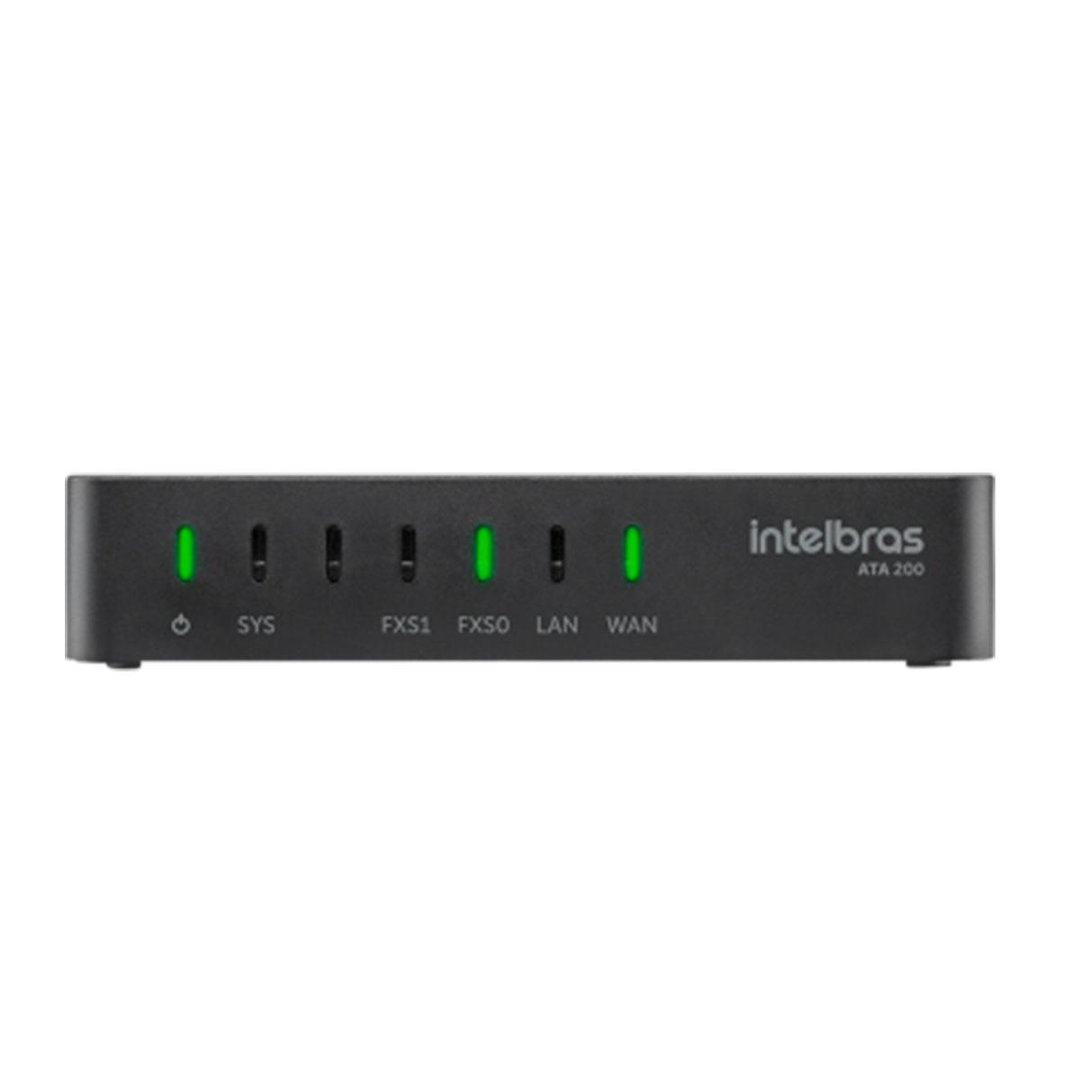 Conversor de protocolo Intelbras IP  ATA 200