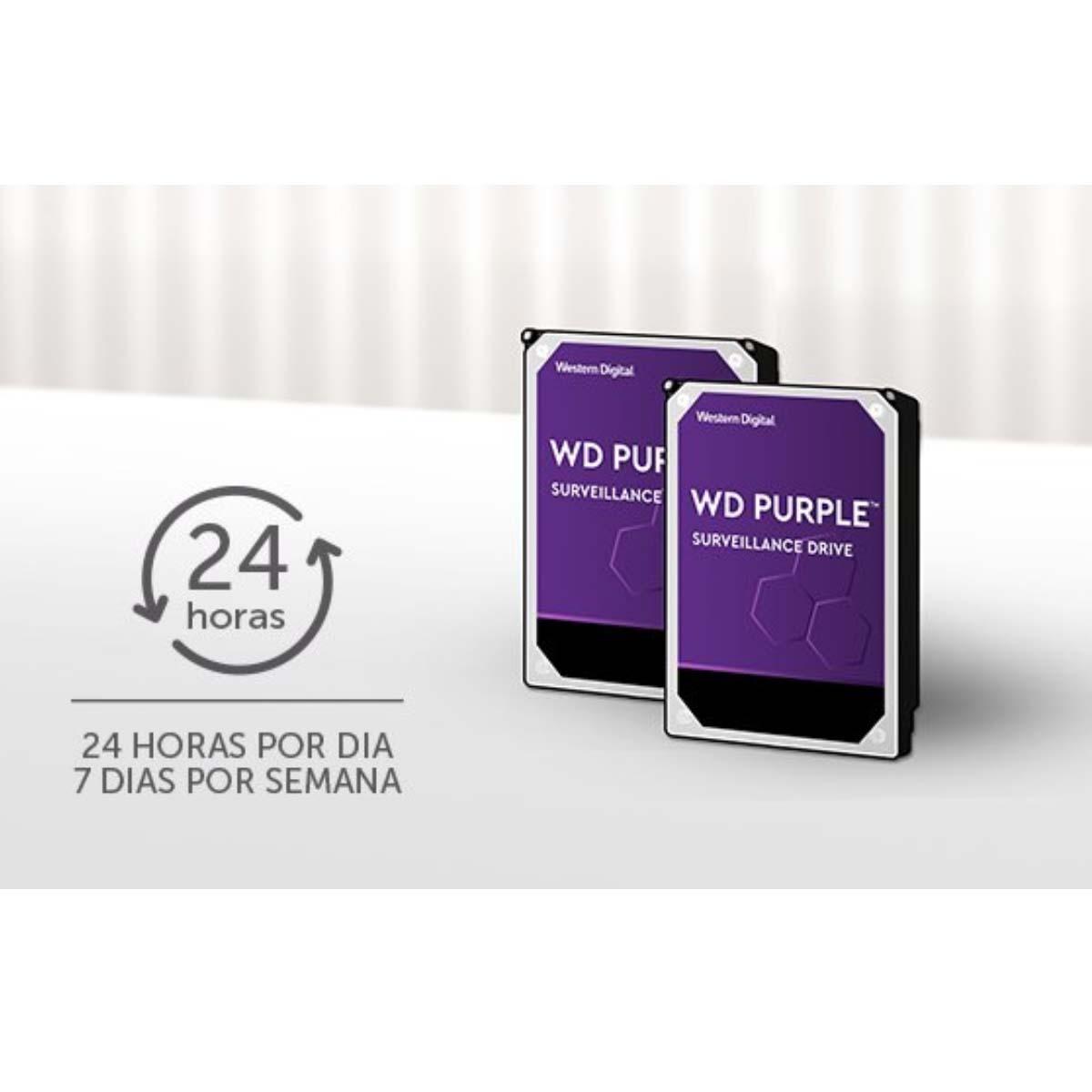 HD INTELBRAS DISCO RÍGIDO WD PURPLE 4 TERA PARA CFTV