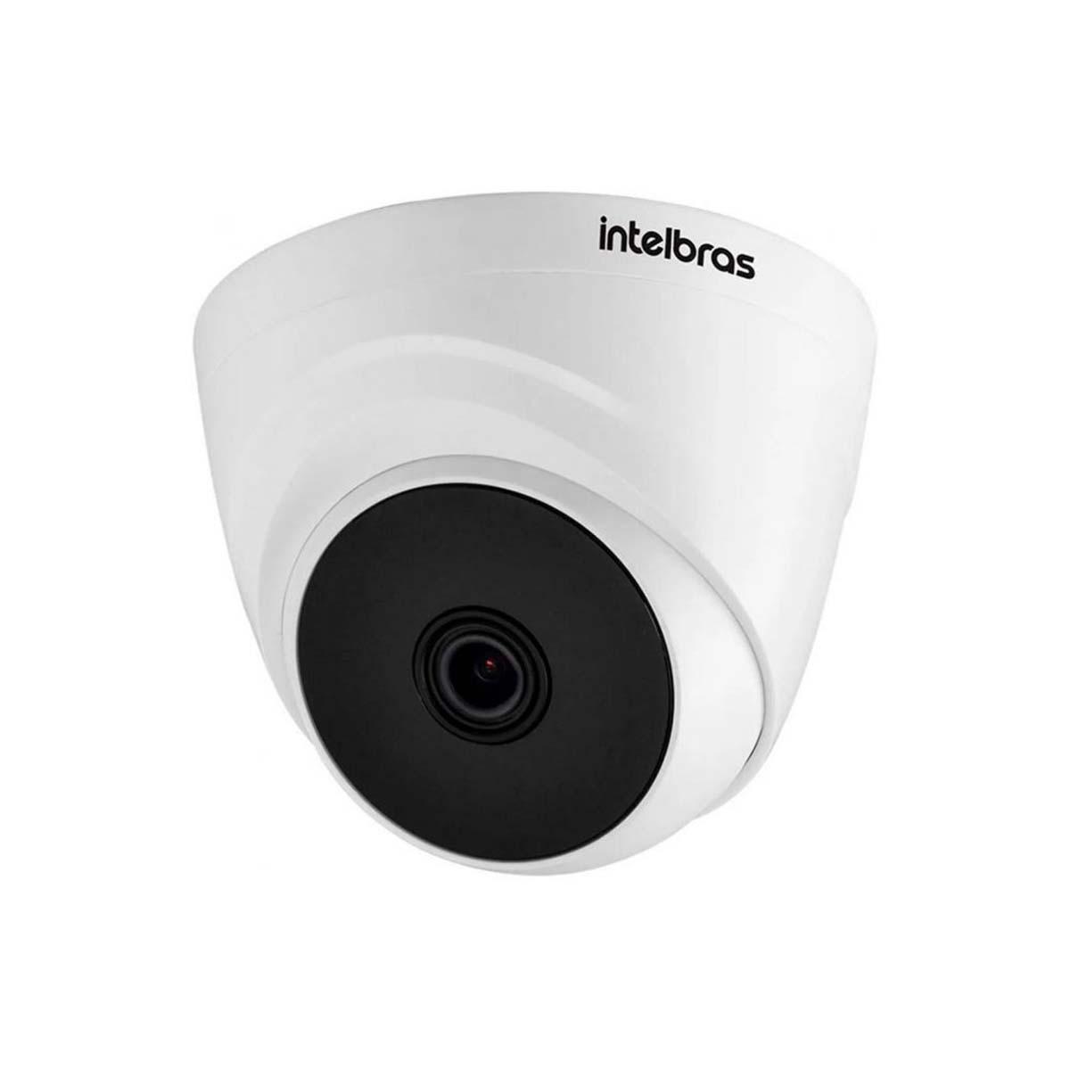 Kit 02 Câmera infravermelho Multi HD Intelbras VHD 1220 D G5 1080P Lente 2,8 mm