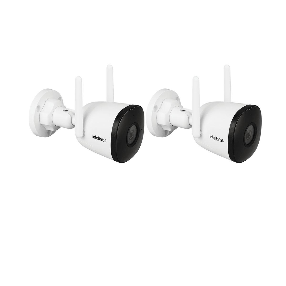 KIT 02 Câmera Intelbras Wi-Fi Full HD iM5 S 1080p 2,8 m