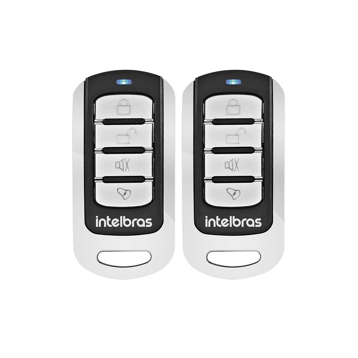 Kit 02 Controle Remoto Intelbras 433mhz Xac 3000 4k