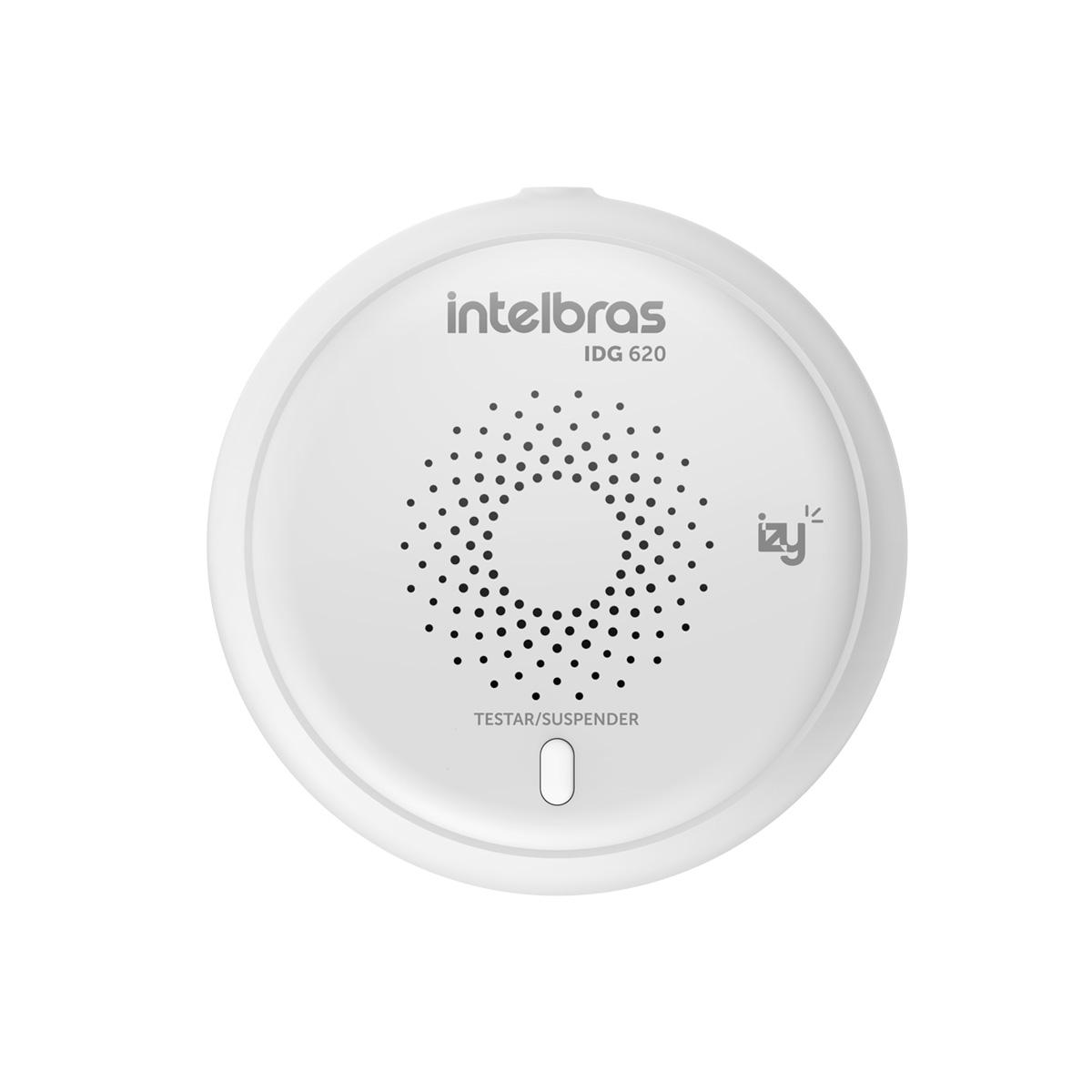 Kit 02 Detector De Gás Smart Intelbras Idg 620