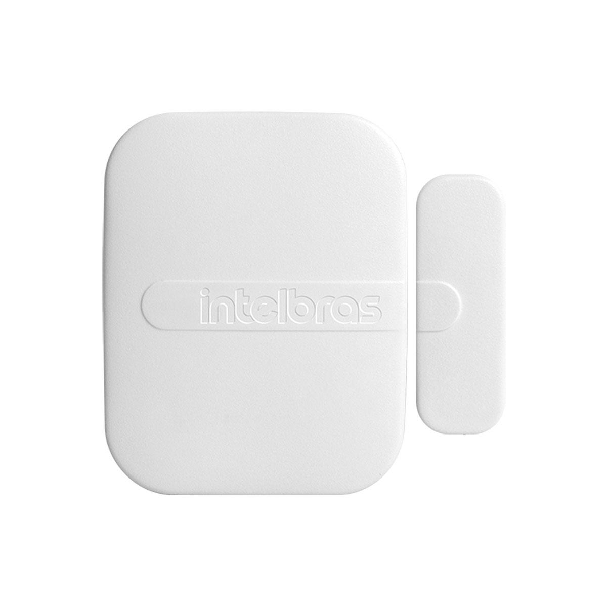 Kit 02 Sensor Magnético Intelbras Sem Fio Xas Smart Branco