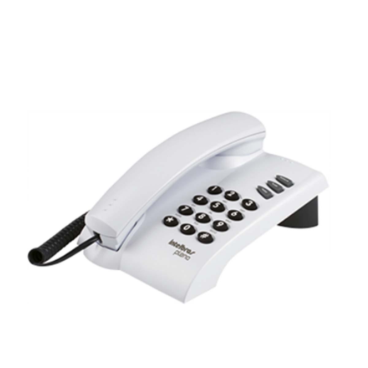 Kit 02 Telefone De Mesa Intelbras Pleno Cz Artico
