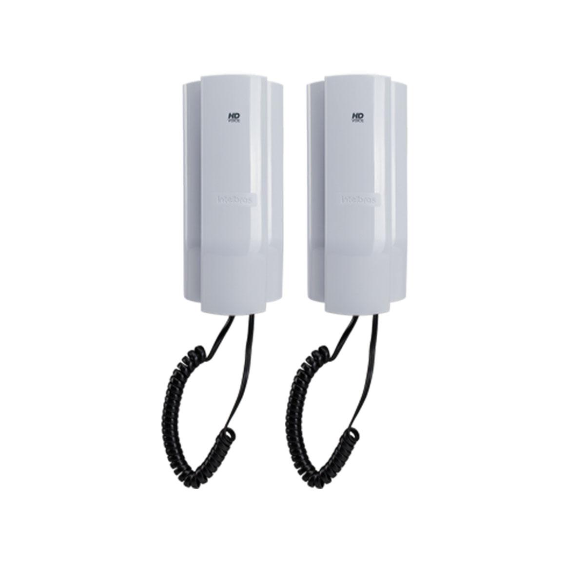 Kit 02 Telefone Intelbras Ip Tdmi 400 Ip Poe