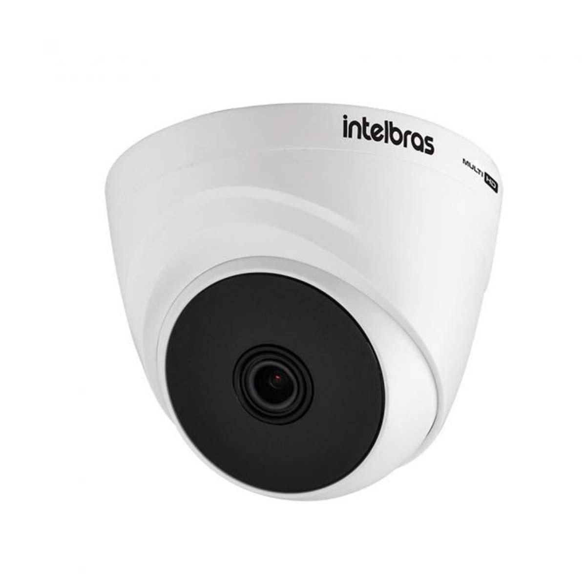 Kit 03 Câmera Dome Intelbras Vhd 1120 D G6 720p 2,8mm