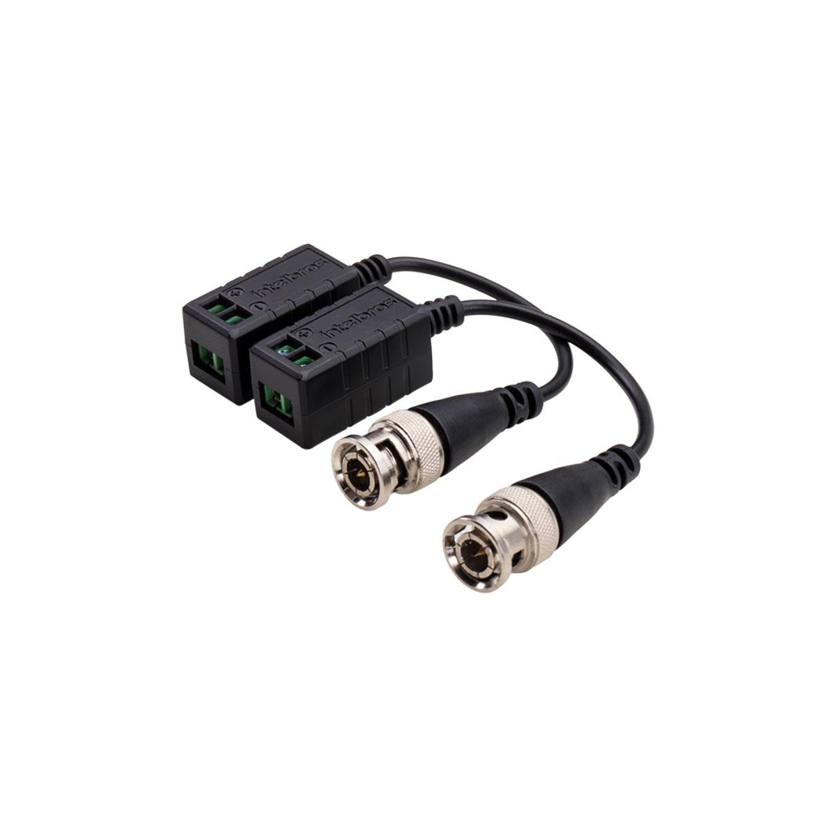Kit 03 Conversor Balun Intelbras Vb 501p