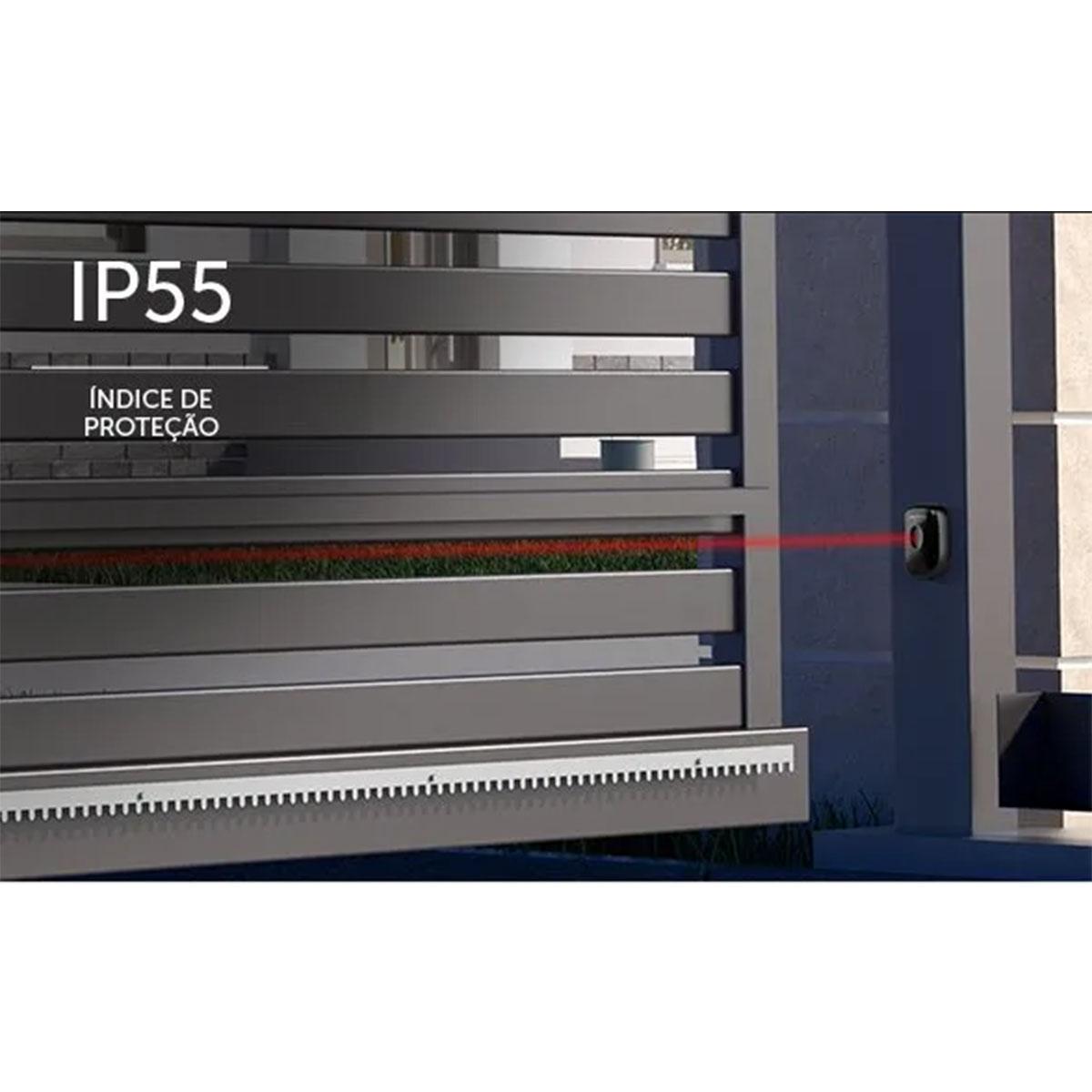 Kit 03 Sensor De Barreira Intelbras Iva 5015 Digital