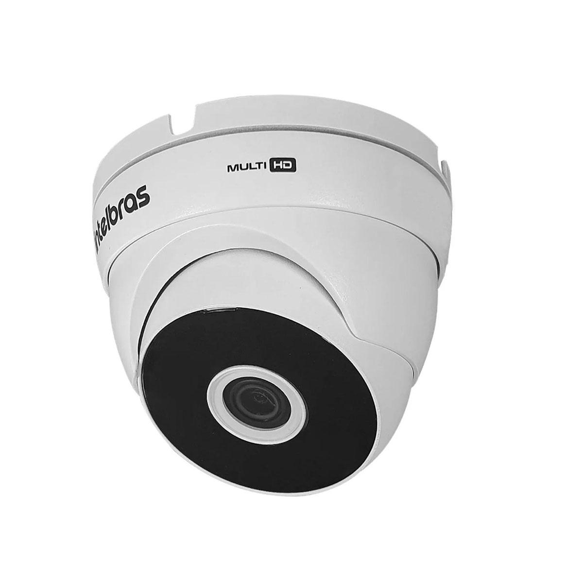 Kit 04 Câmera Dome Intelbras Vhd 3120 D G6 720p 3.6mm