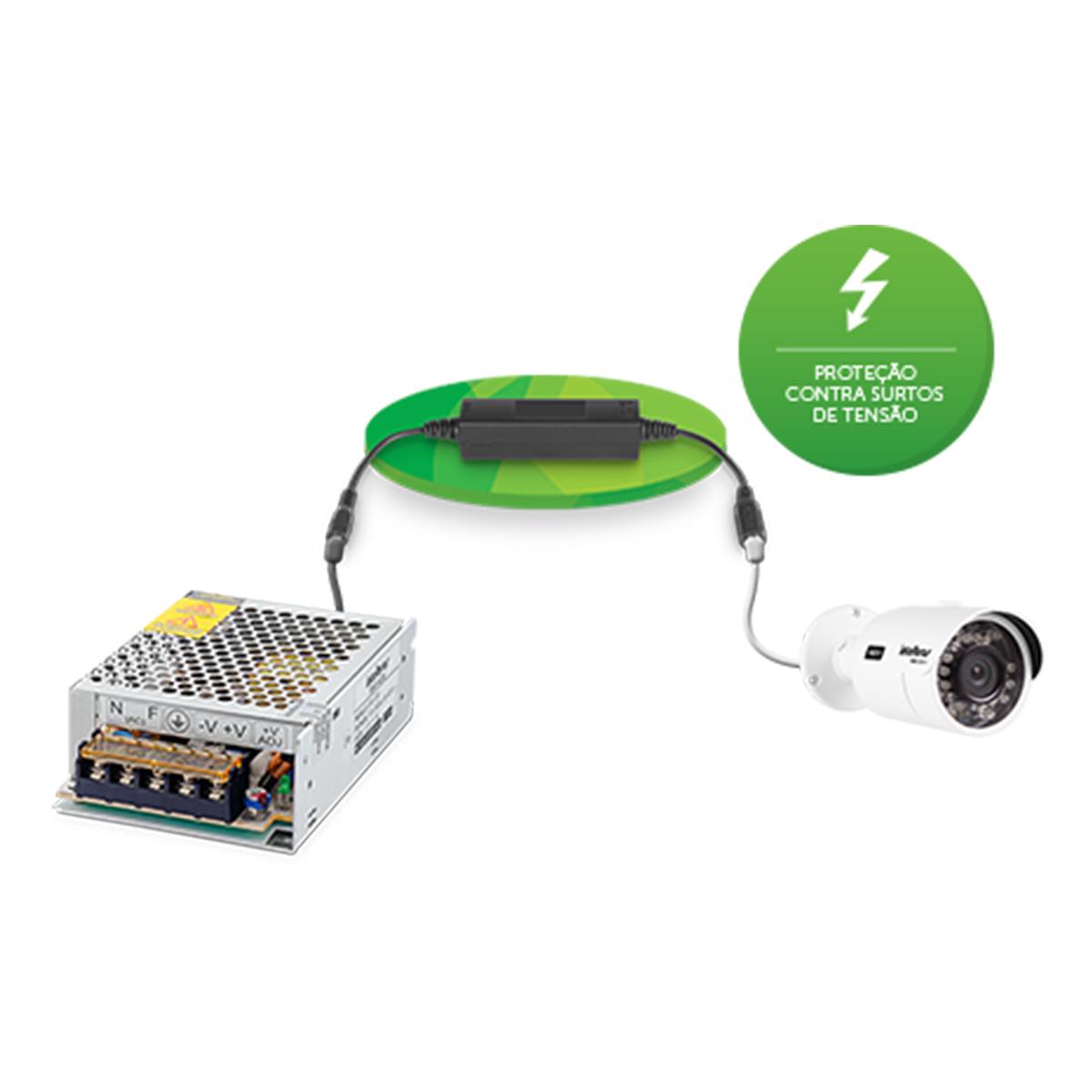 Kit 04 Conversor Estático Intelbras Dc/Dc Xhd 1000