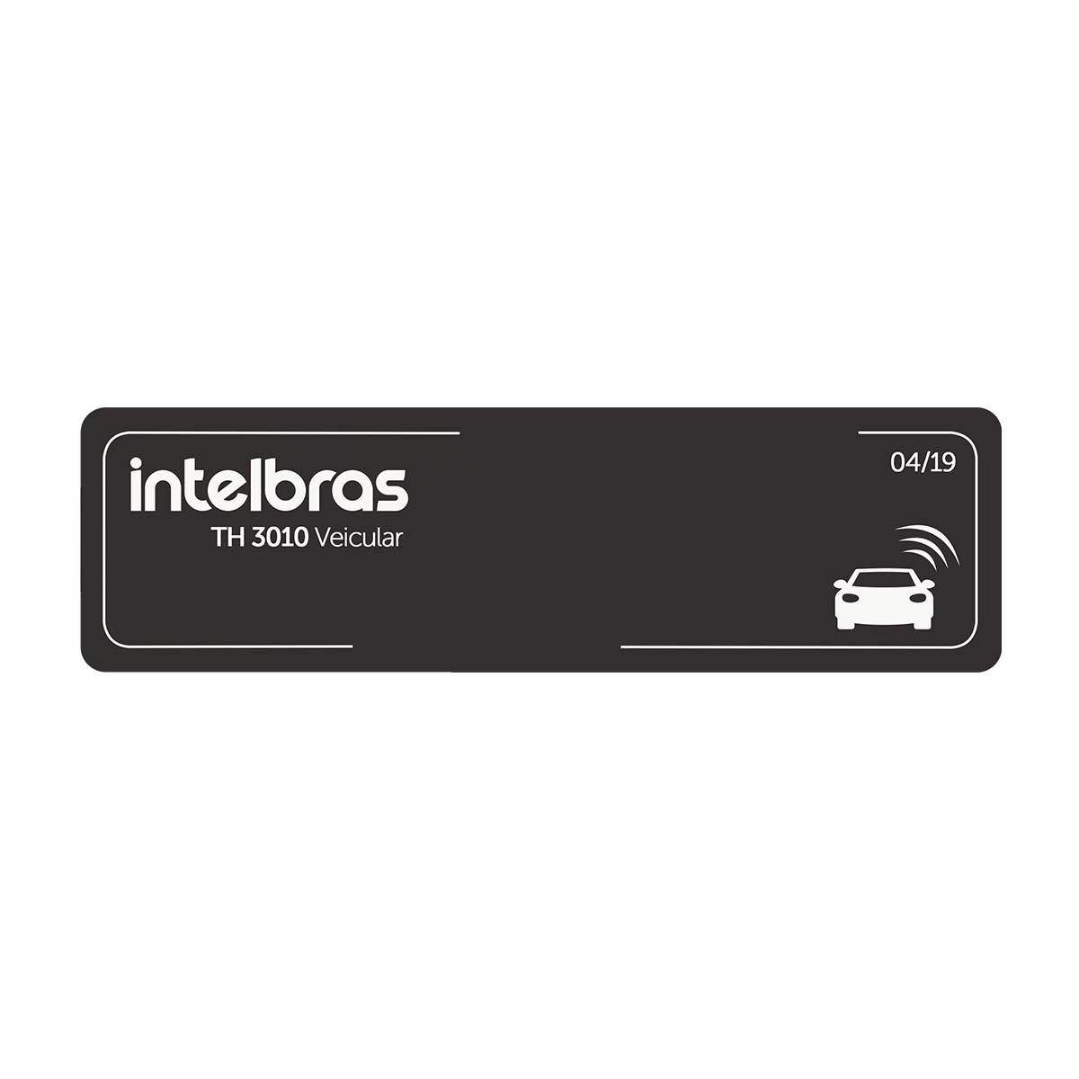 Kit 04 Etiqueta Veicular Intelbras Rfid 900mhz Th 3010