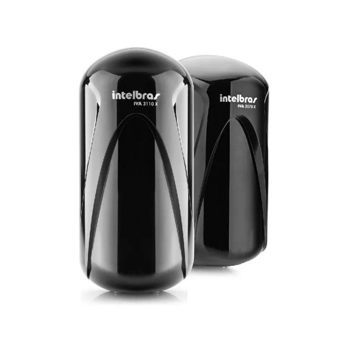 Kit 04 Sensor De Barreira Intelbras Iva 3070 X 70 Metros
