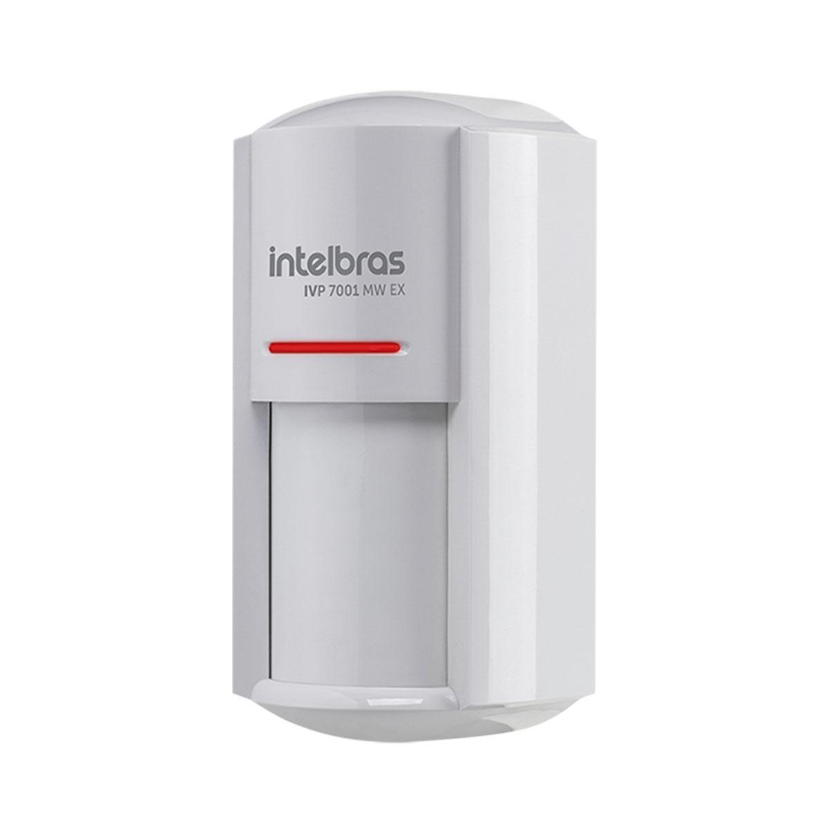 Kit 04 Sensor Externo Com Fio Intelbras Ivp 7001 Mw Ex