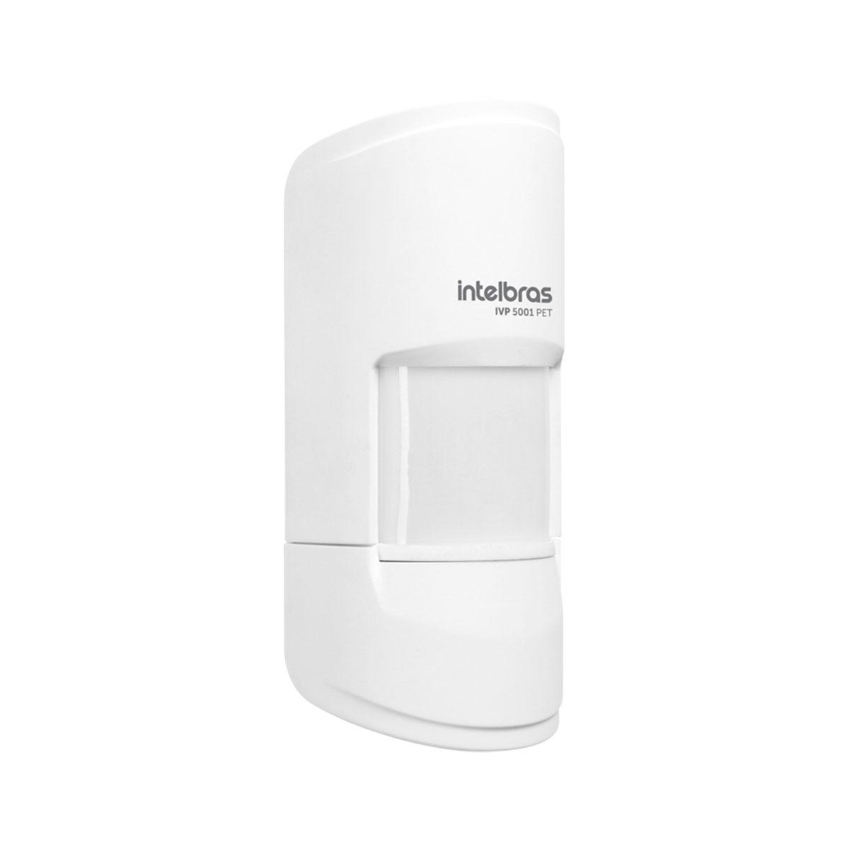 Kit 04 Sensor Interno Com Fio Intelbras Pet 20 Kg Ivp 5001