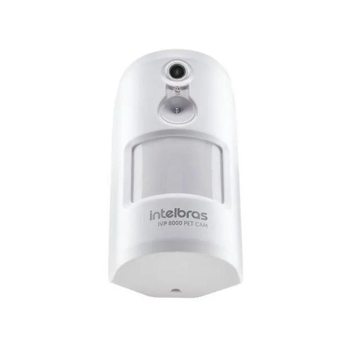 Kit 04 Sensor Passivo Sem Fio Intelbras Ivp 8000 Pet Cam
