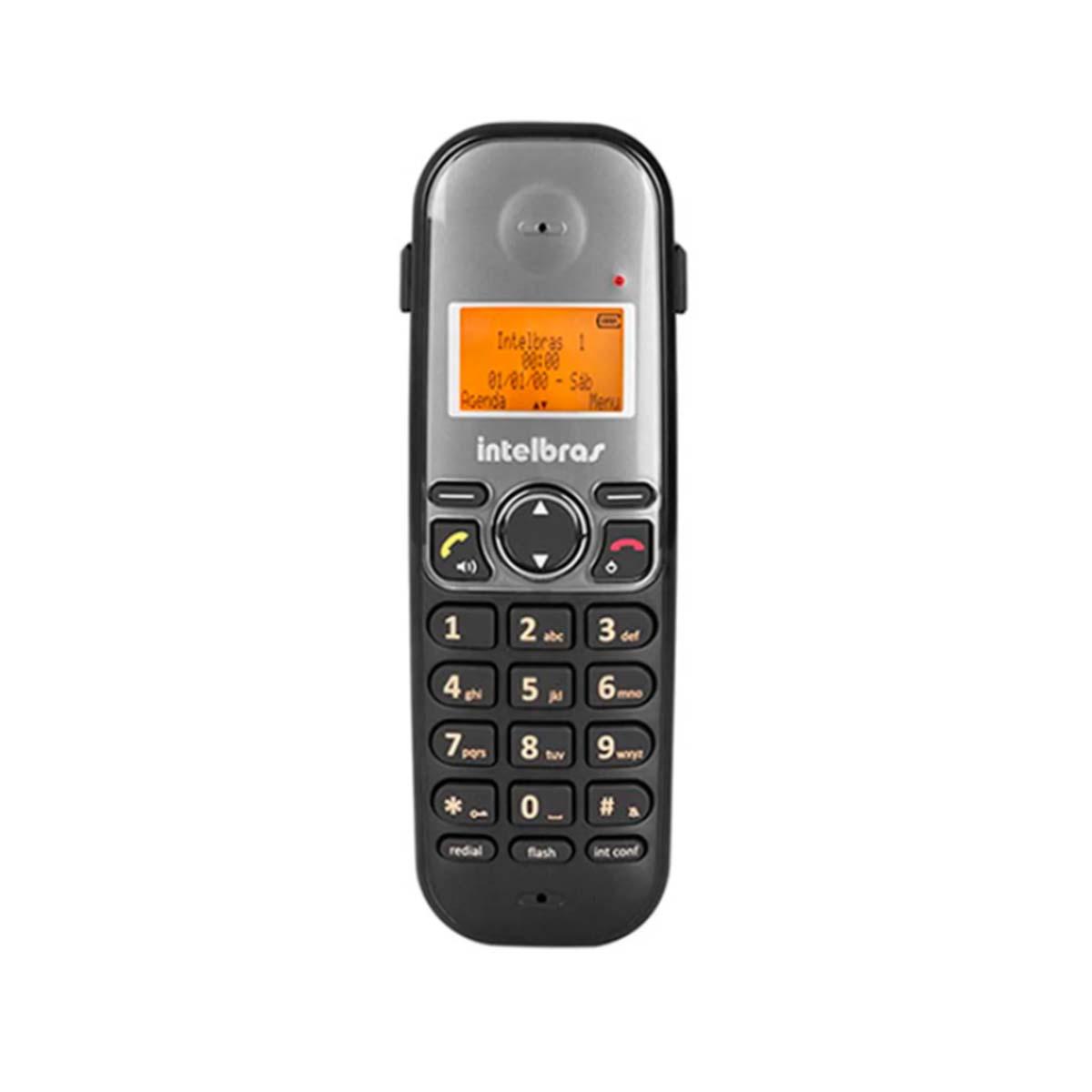 Kit 04 Telefone Sem Fio Intelbras Ts 5120
