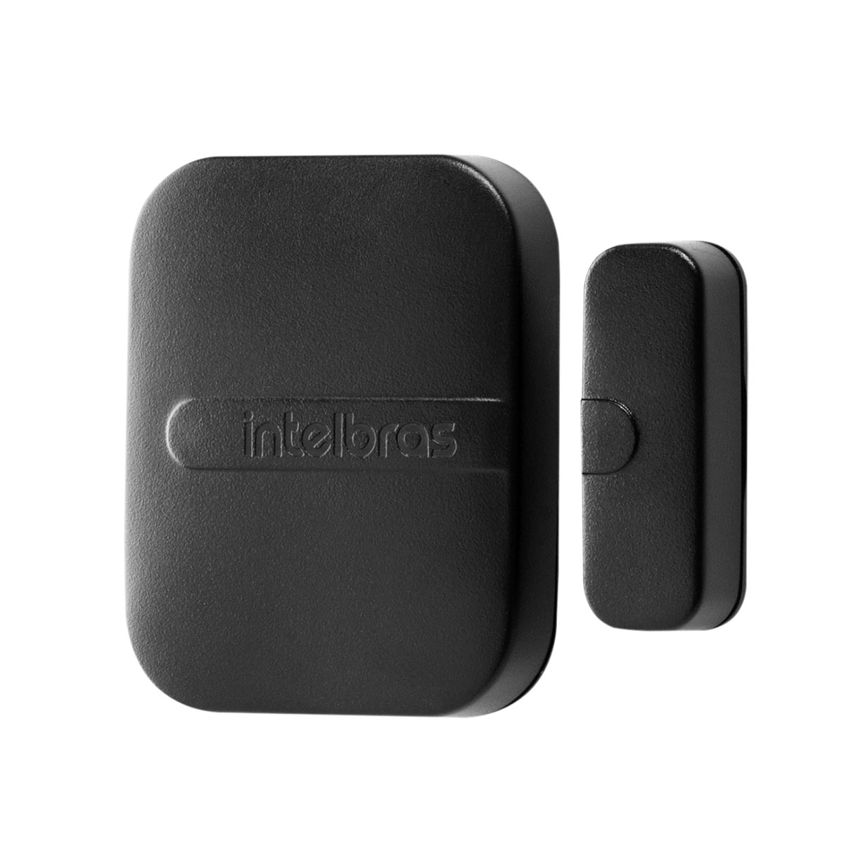 Kit 05 Sensor Magnético Intelbras Sem Fio Xas Smart Black
