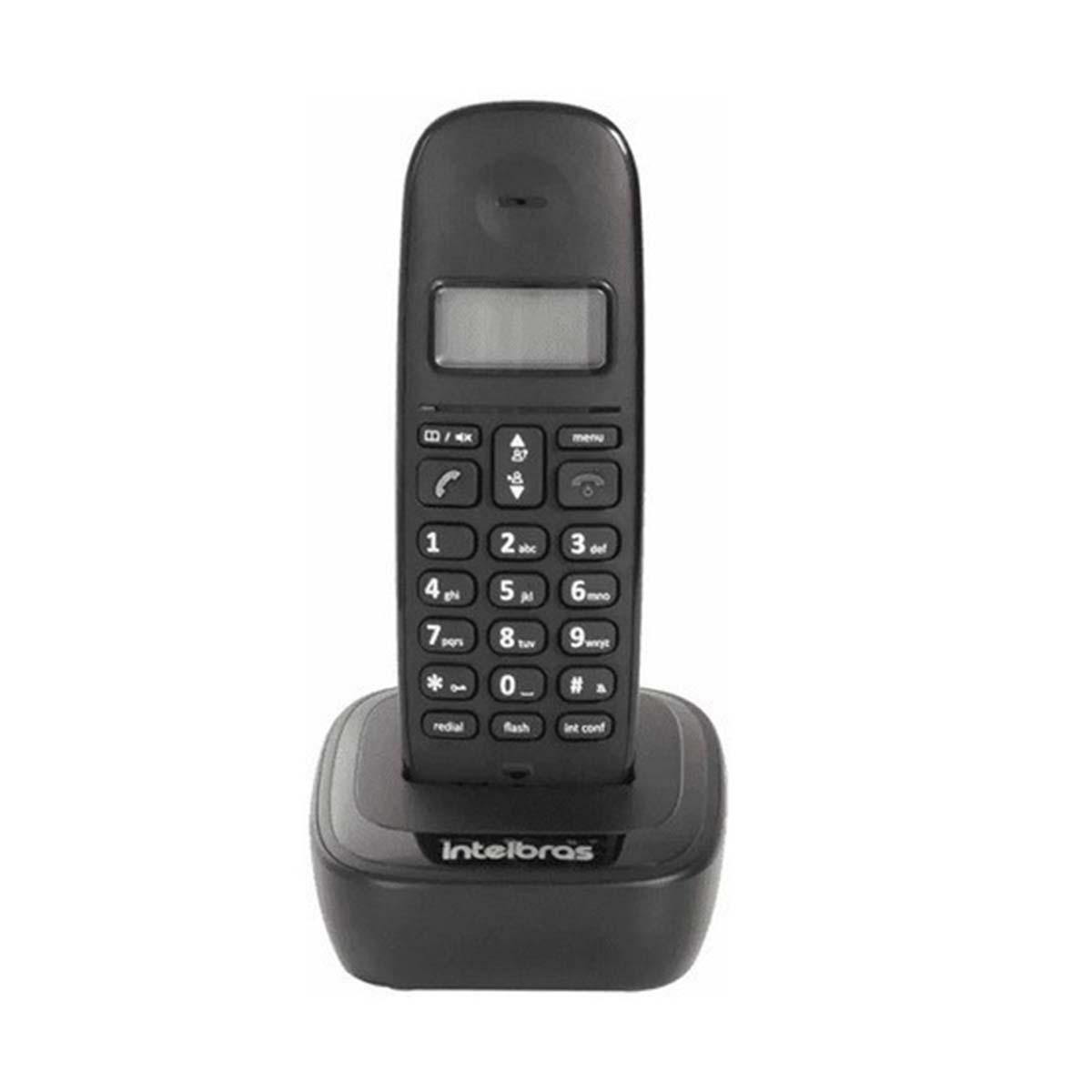 Kit 05 Telefone Sem Fio Intelbras Ts 2510 Preto