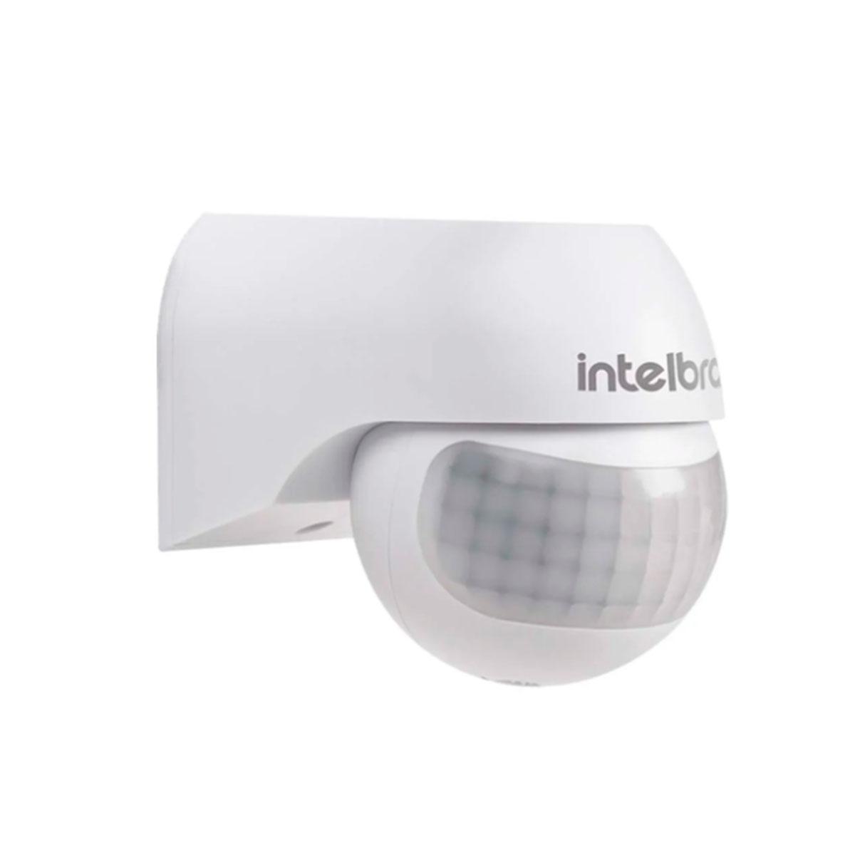 Kit 06 Sensor De Presença Intelbras Para Iluminação Esp 180