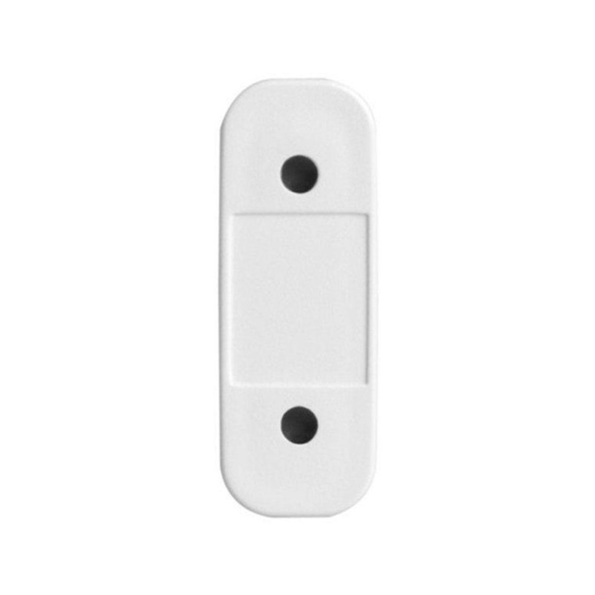 Kit 06 Sensor Magnético Sem Fio Intelbras Xas Light Branco