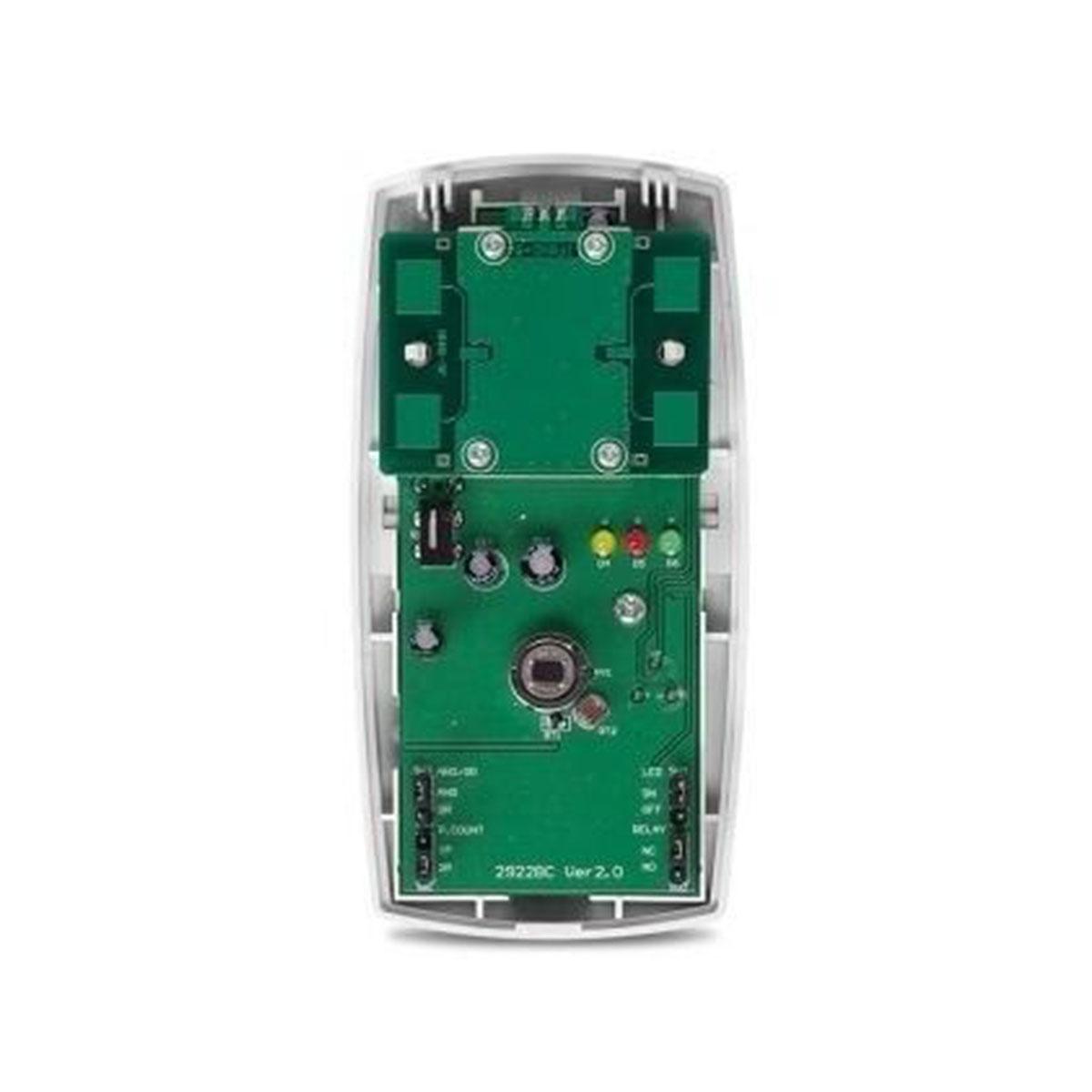 Kit 06 Sensor Semi Externo Com Fio Intelbras Ivp 3000 Mw