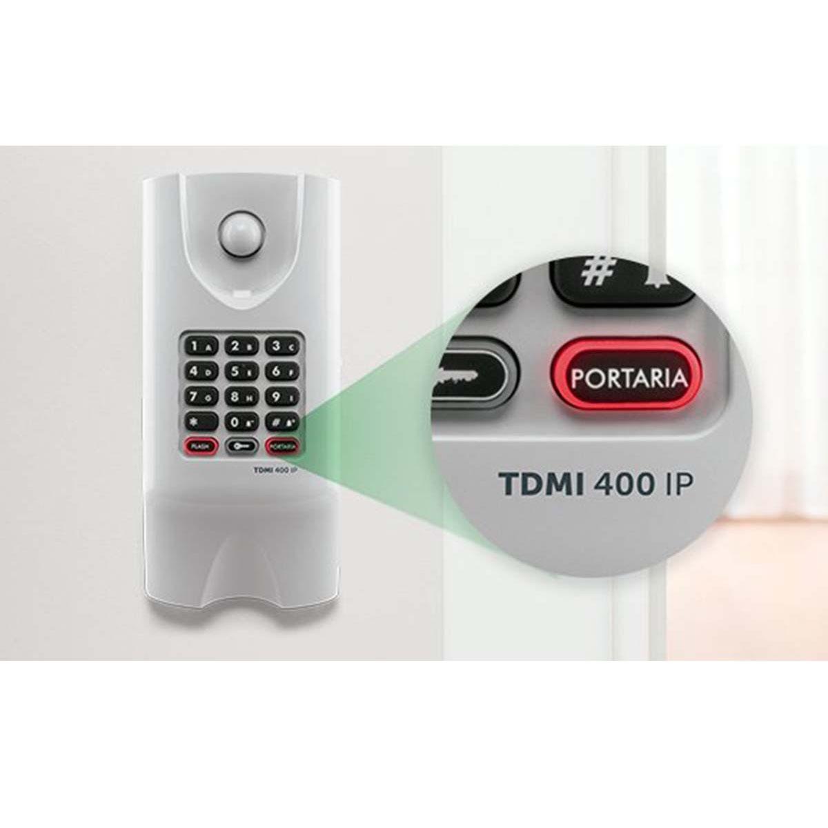 Kit 06 Telefone Intelbras Ip Tdmi 400 Ip Poe