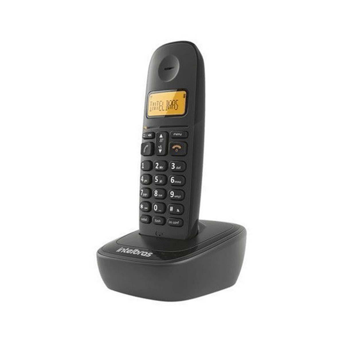 Kit 06 Telefone Sem Fio Intelbras Ts 2510 Preto