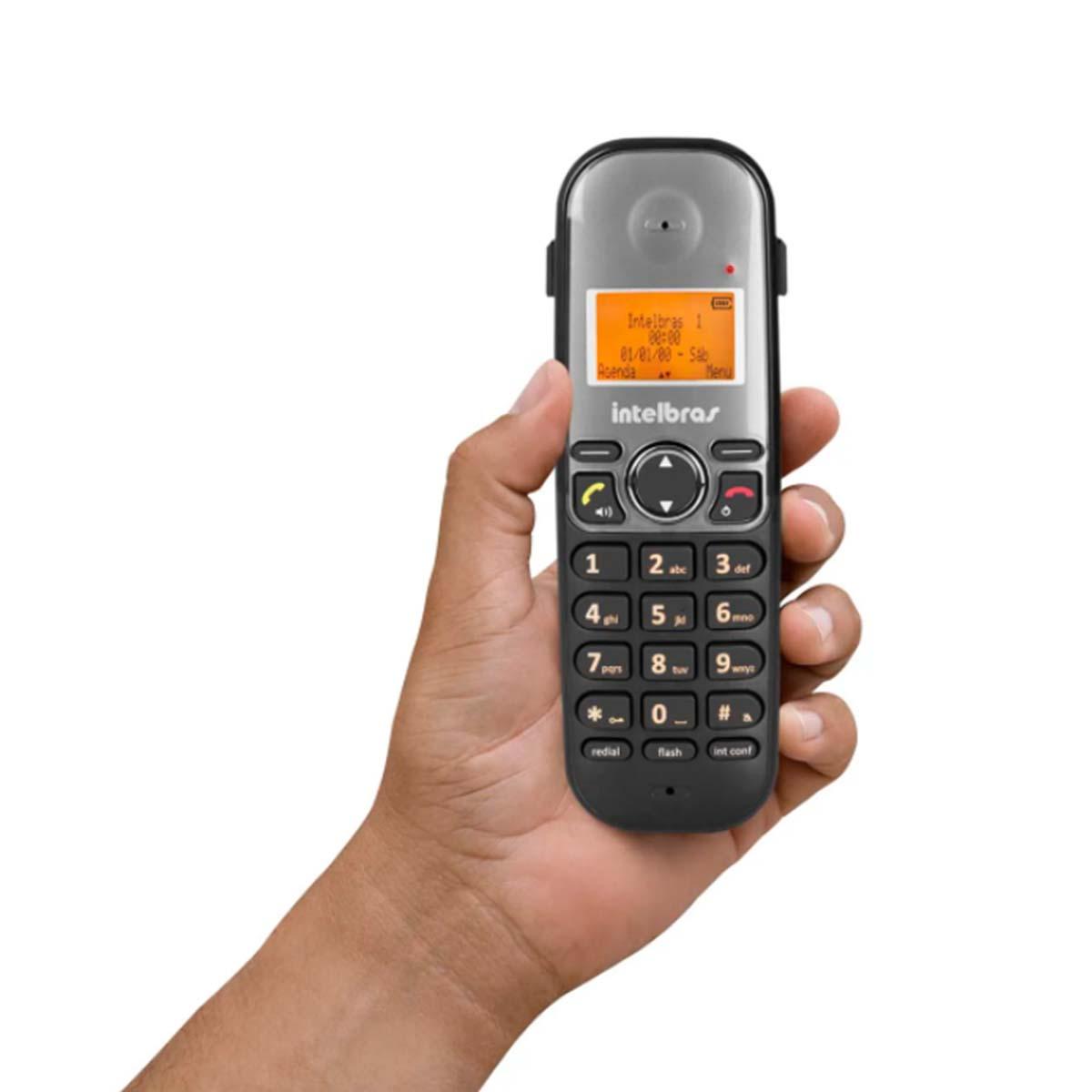 Kit 06 Telefone Sem Fio Intelbras Ts 5120