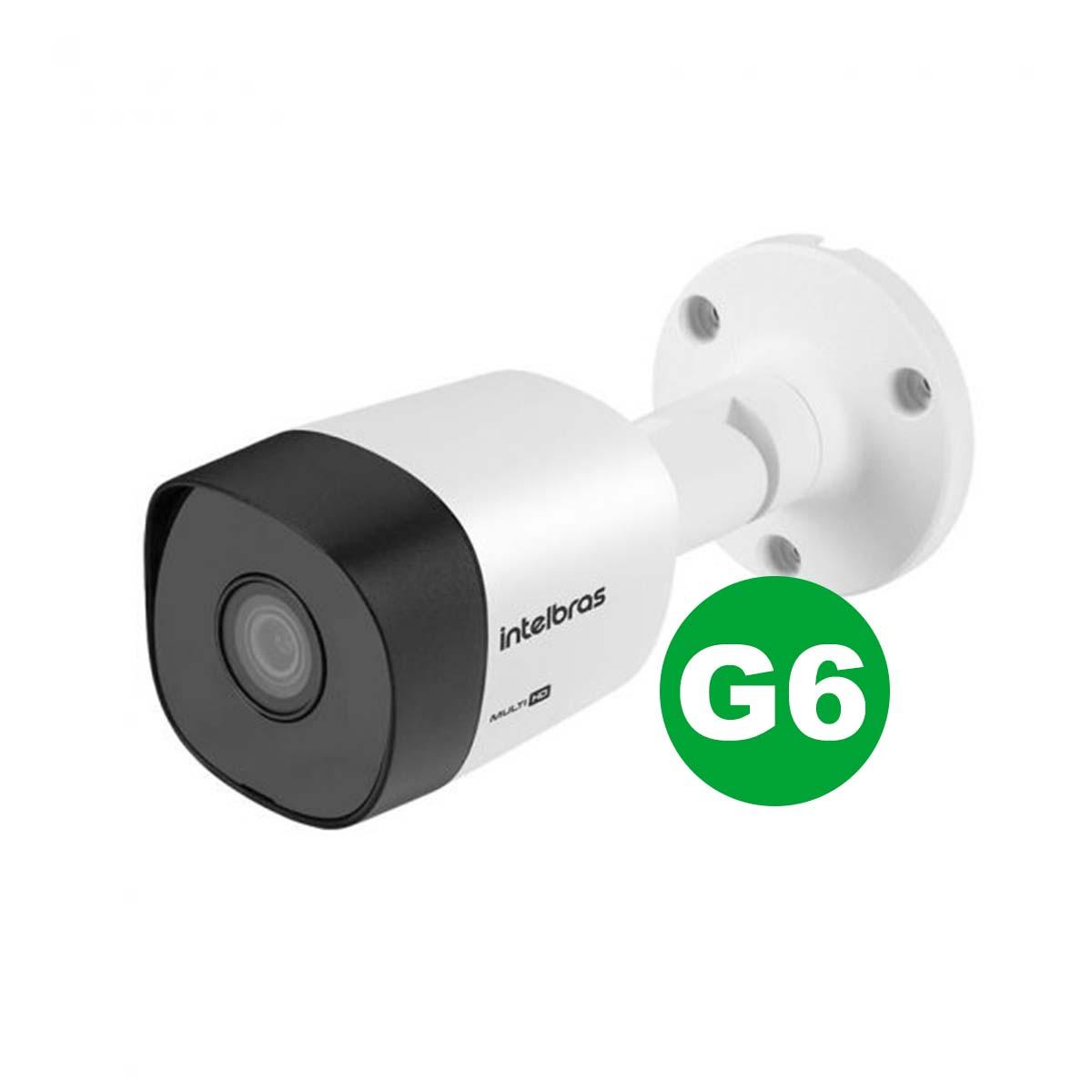 Kit 07 Câmera Bullet Intelbras Vhd 3230 B G6 1080p 3.6 mm