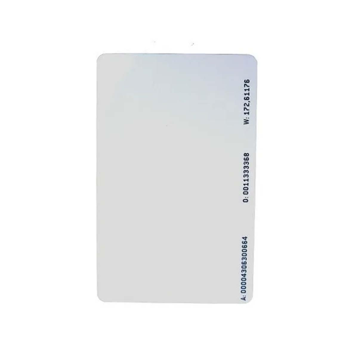 Kit 07 Cartão Intelbras De Acionamento Rfid 125Khz Th 2000