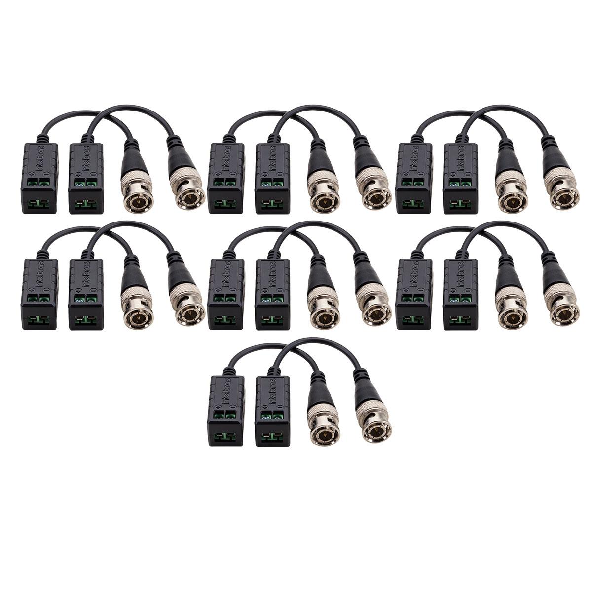 Kit 07 Conversor Balun Intelbras Vb 501p