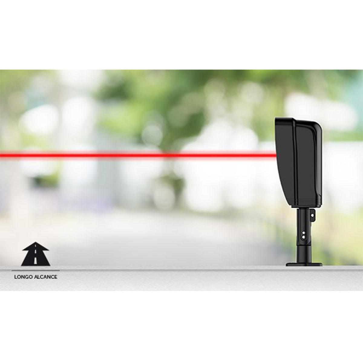 Kit 07 Sensor De Barreira Intelbras Duplo Feixe Iva 5080 At