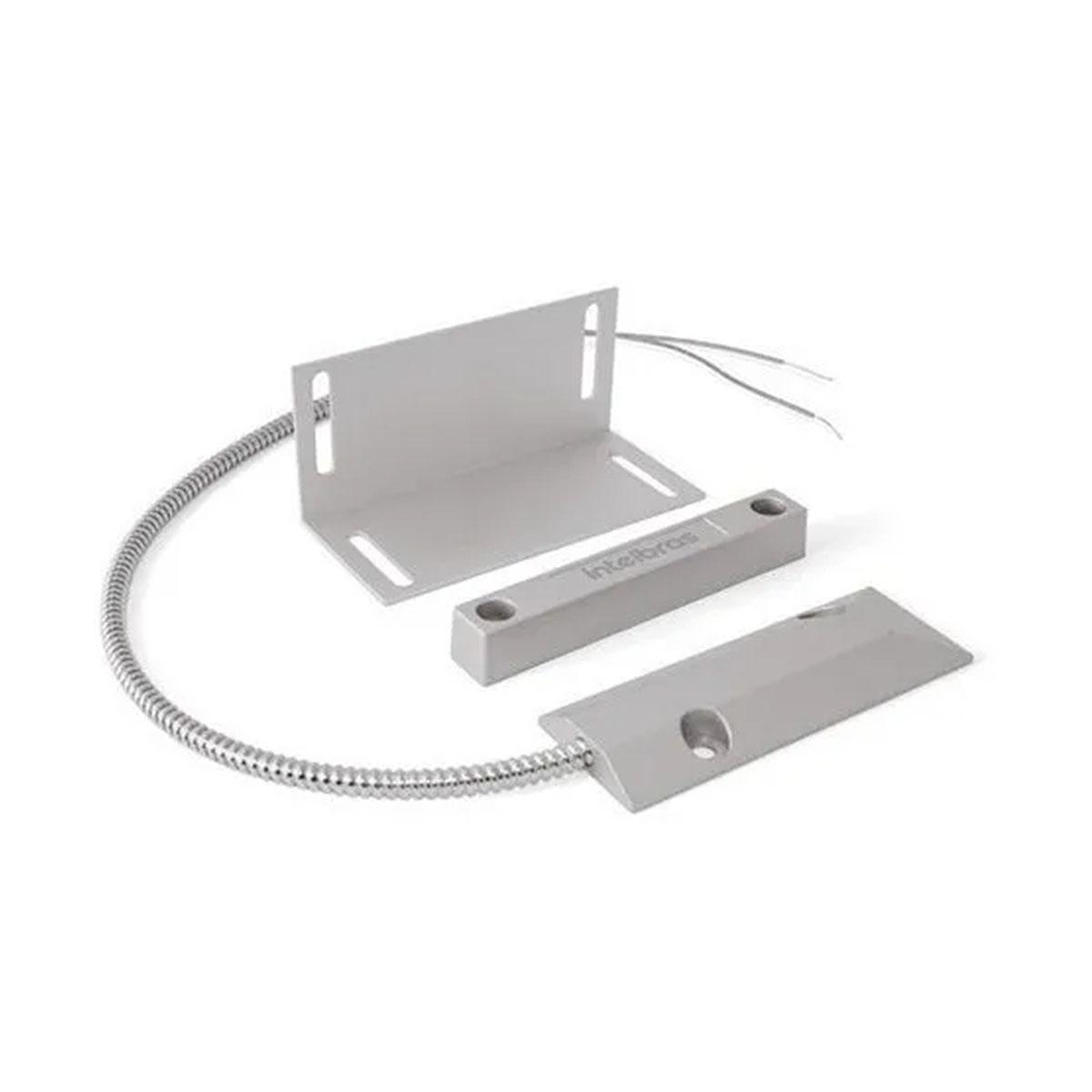 Kit 07 Sensor Magnético Com Fio Intelbras Xas Porta Aço