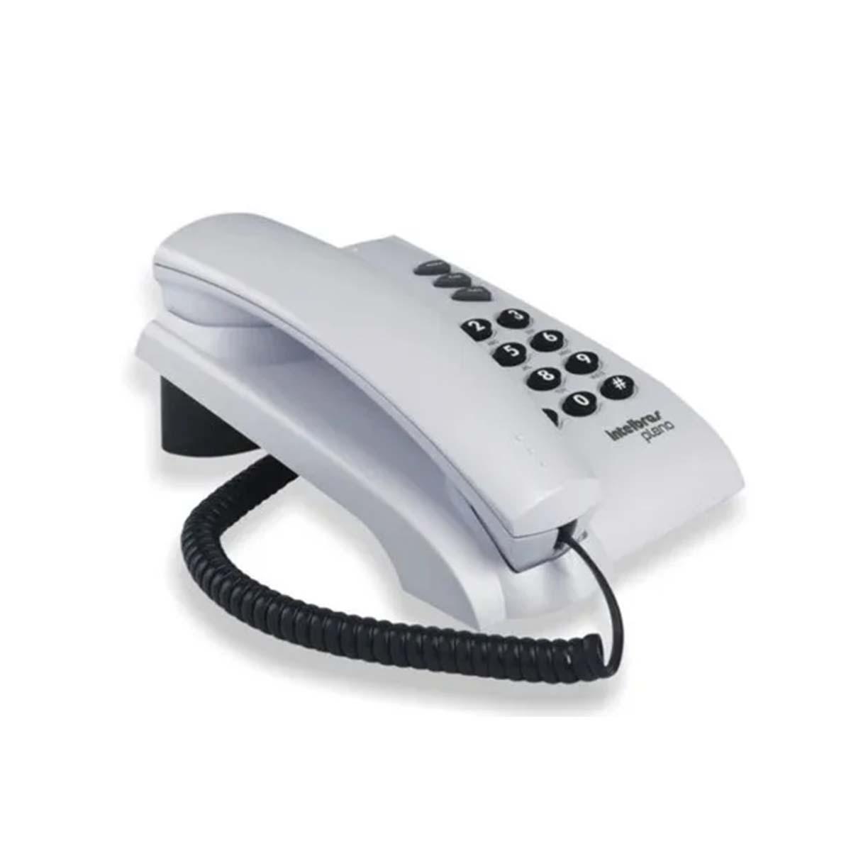 Kit 07 Telefone De Mesa Intelbras Pleno Cz Artico