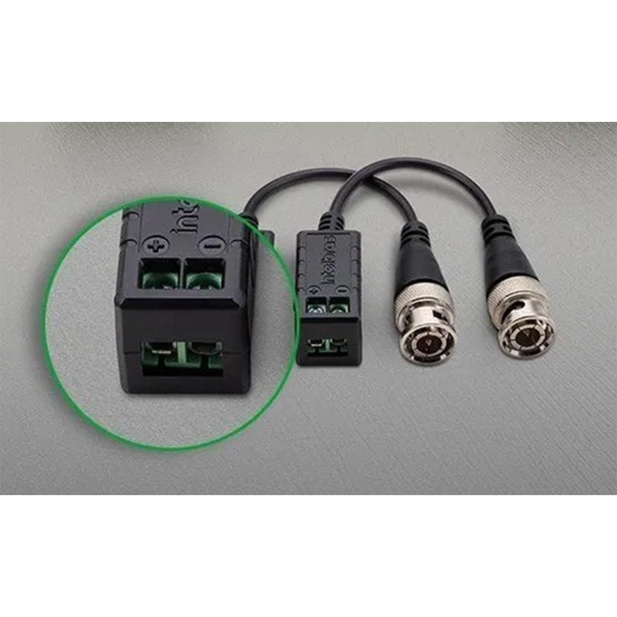 Kit 09 Conversor Balun Intelbras Vb 501p