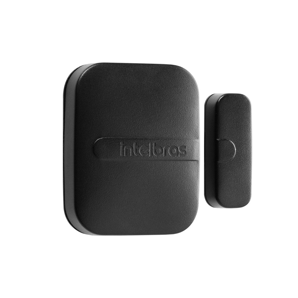 Kit 09 Sensor Magnético Sem Fio Intelbras Xas Light Black
