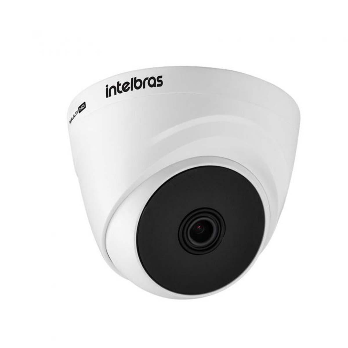 Kit 10 Câmera Dome Intelbras Vhd 1120 D G6 720p 2,8mm