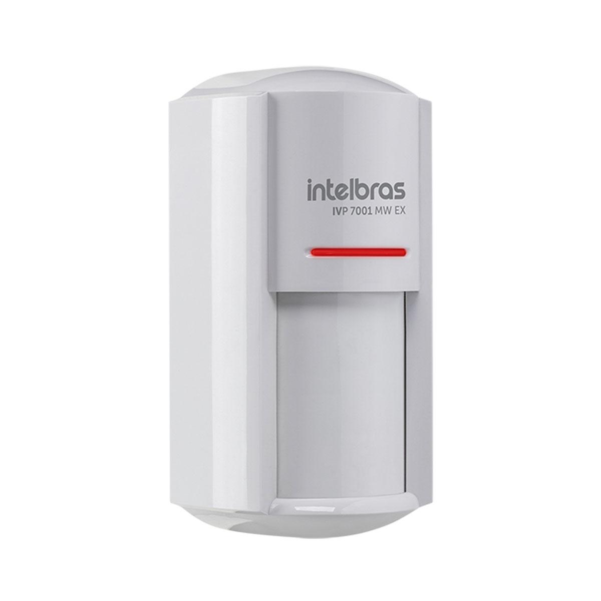 Kit 10 Sensor Externo Com Fio Intelbras Ivp 7001 Mw Ex