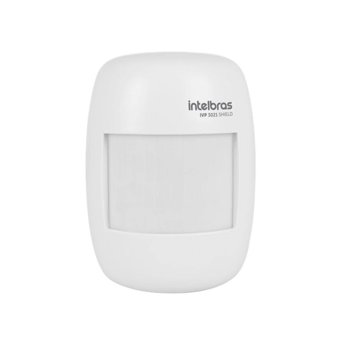 Kit 10 Sensor Interno Com Fio Intelbras Ivp 3021 Shield