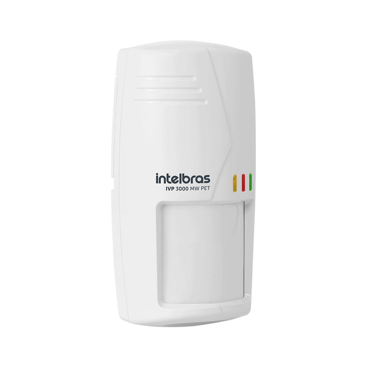 Kit 10 Sensor Semi Externo Com Fio Intelbras Ivp 3000 Mw Pet