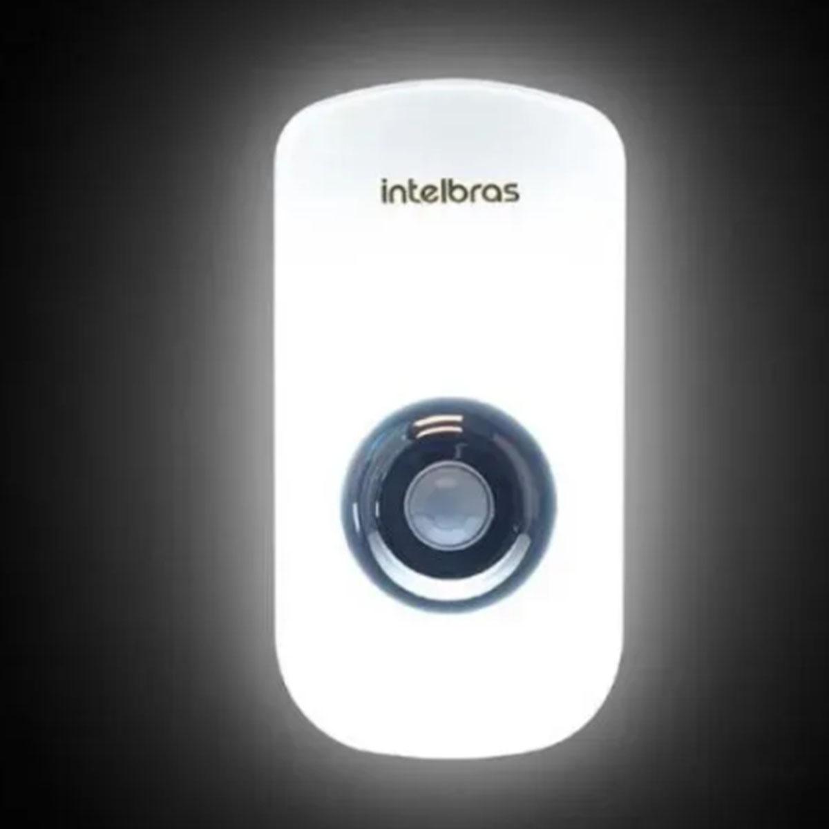Kit 4 Luminária Intelbras Led c/ Sensor De Presença Esi 5002