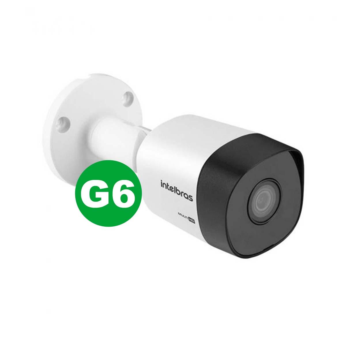 Kit Câmera Bullet Intelbras Vhd 3230 B G6 3.6 mm + Acessórios