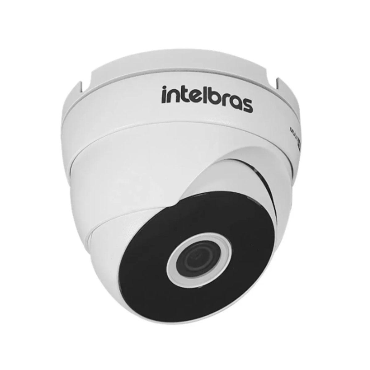 Kit Câmera Intelbras 3120 D G6 720p 3.6mm + Fonte Ef 1201