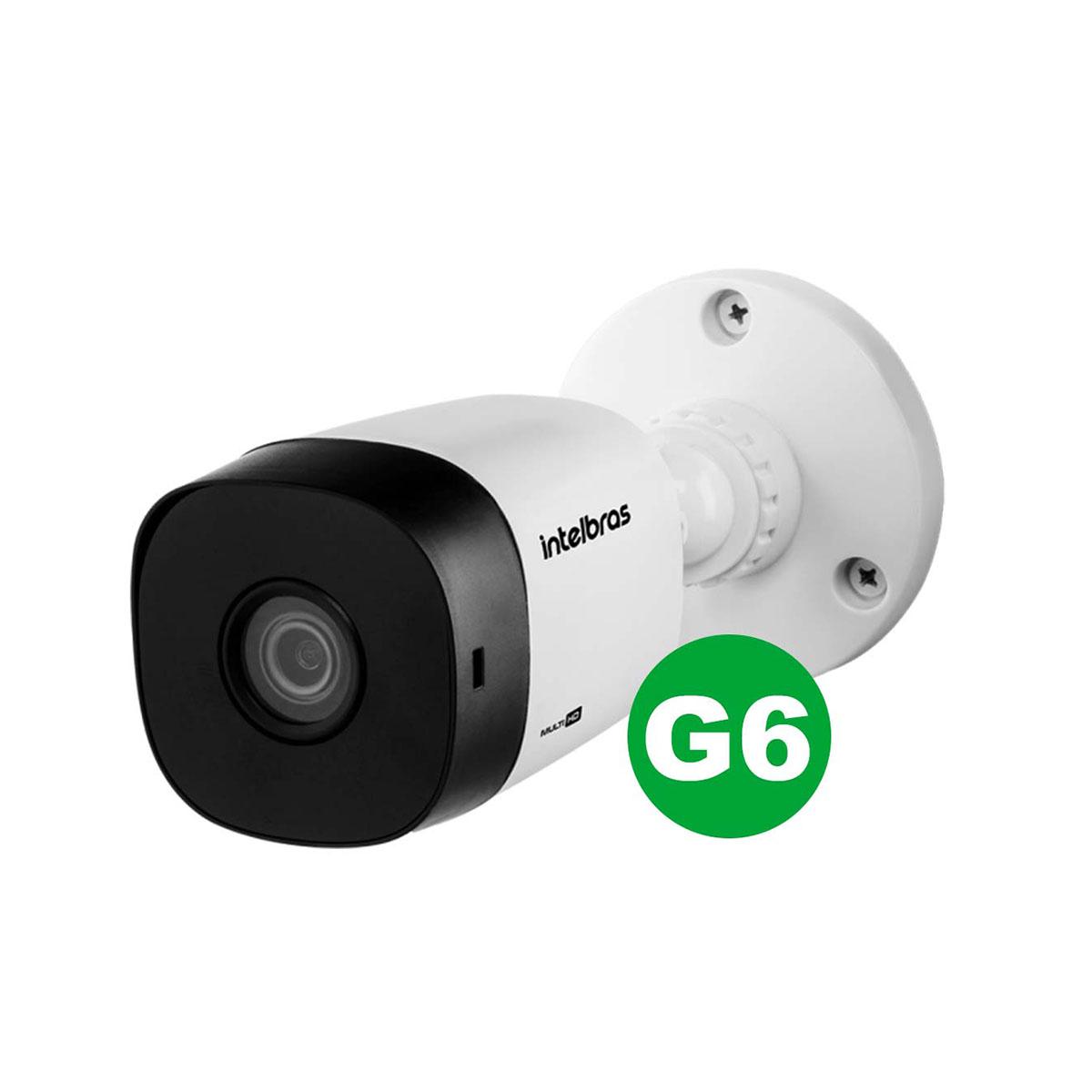 Kit Câmera Intelbras Vhd 1220 B G6 1080p 3.6mm + Acessórios